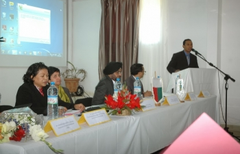 Opening ceremony of EdCIL Educational Seminar, at the University of Antananarivo, June 5th, 2013