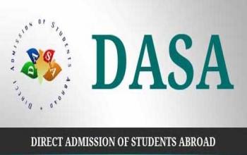 Direct Admission for NRI/PIO/Foreign Students under DASA Scheme 2015