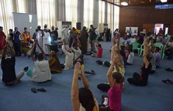 INTERNATIONAL DAY OF YOGA IN MORONI (COMOROS)