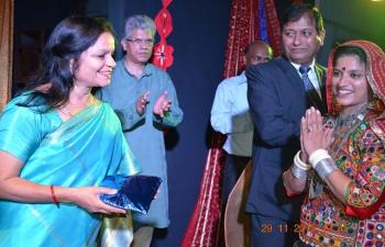 Gujarati Folk Dance Performances-Majunga on 29 November
