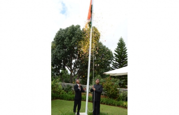 Celebration of India Republic Day on 26th January 2016.