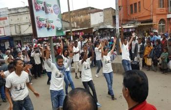 Curtain Raiser for 2nd International Day of Yoga 2016 in Antananarivo