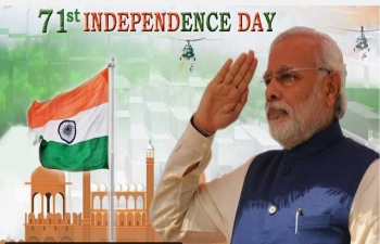Live streaming of Independence Day Celebrations