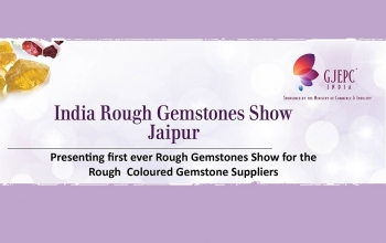 Rough Gem Show Exposition des pierres precieuses - Jaipur - Rajashtan - January 2018