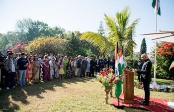 Flag Hoisting ceremony, on the occasion of 73rd Independence Day of India celebrations, 15th August 2019
