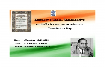 Celebration of Constitution Day of India