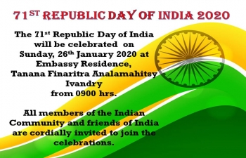 71st Republic Day of India 2020