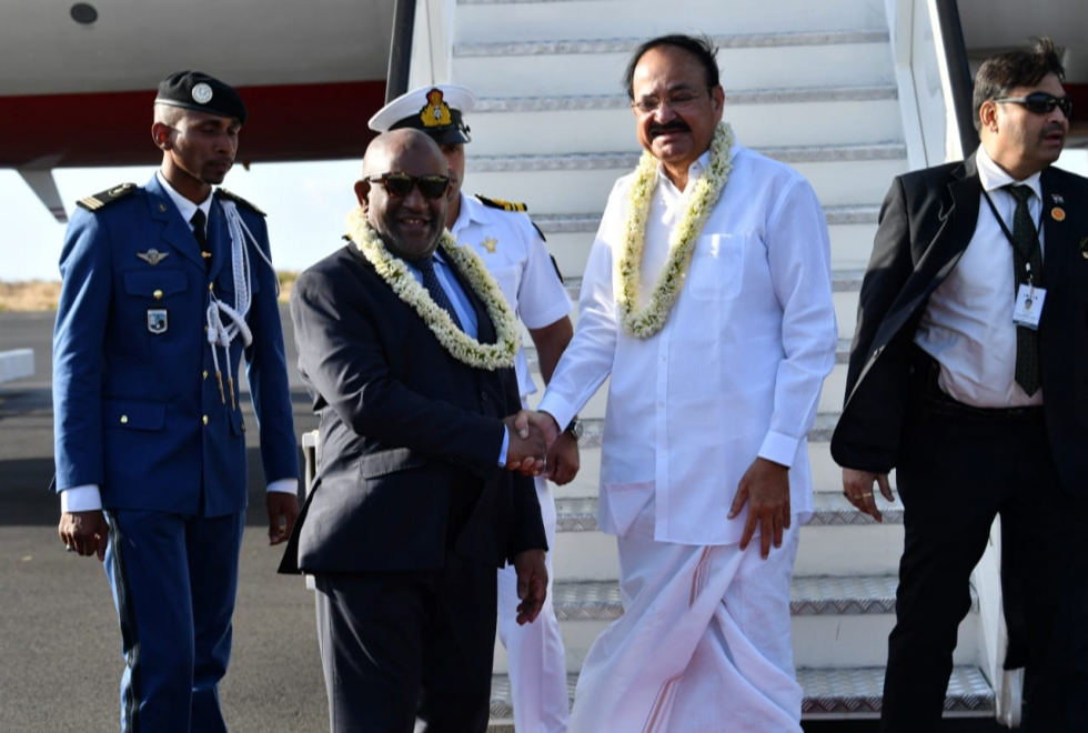 Visit of Hono'ble Vice President of India to the Union of Comoros, October 2019