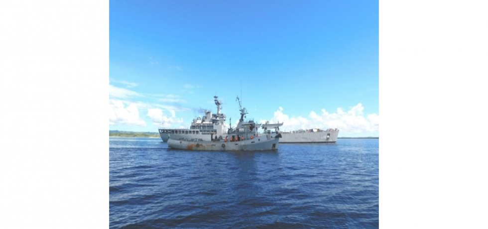The Indian Navy Ship Shardul and Malagasy Naval Ship Trozona undertook Joint Patrol in Madagascar's EEZ and participated in PASSEX.The first Joint Patrol between the navies of India and Madagascar reflect the growing defence ties between the two Indian Ocean neighbours.