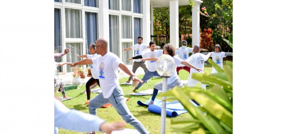 Celebration of International Day of Yoga 2021