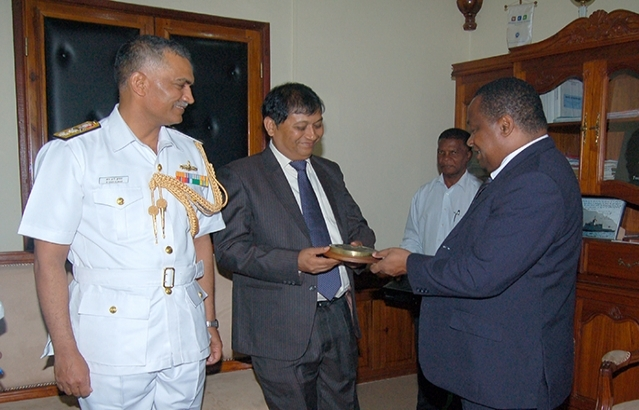 Visit to Chief of Region