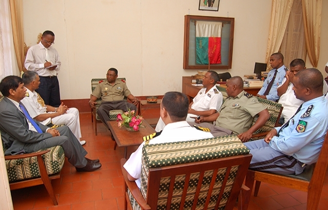 Meeting of Ambassador of India and Indian Navy with the Local Authority in Antsiranana