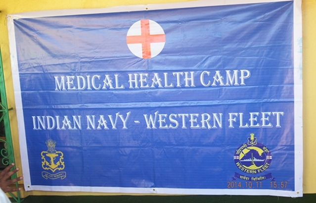 Medical Camp by Indian Navy
