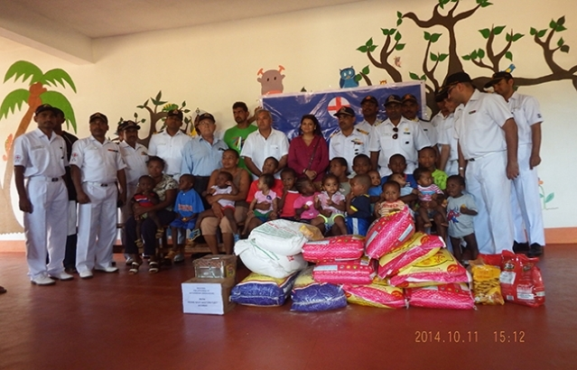 Visit to orphanage of Antsiranana