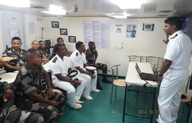 Training of Malagasy Navy