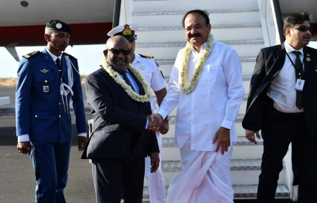 Visit of Hono'ble Vice President of India to the Union of Comoros